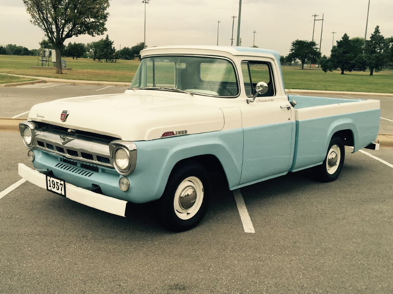 1957 FORD F100 For Sale at Vicari Auctions Biloxi 2015