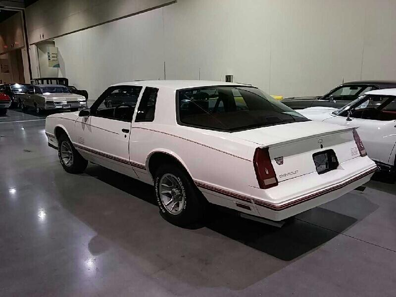 2015 Monte Carlo Ss >> 1987 Chevrolet Monte Carlo Ss For Sale At Vicari Auctions Biloxi 2015