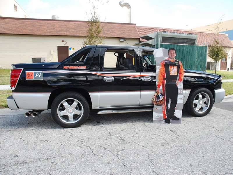 """Chevy Avalanche Topper For Sale >> 2005 CHEVROLET AVALANCHE """"TONY STEWART EDITION"""" For Sale at Vicari Auctions Zephyrhills 2015"""