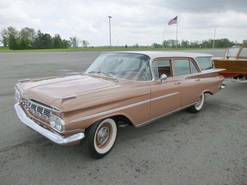 1959 Chevrolet Brookwood Station Wagon For Sale At Vicari