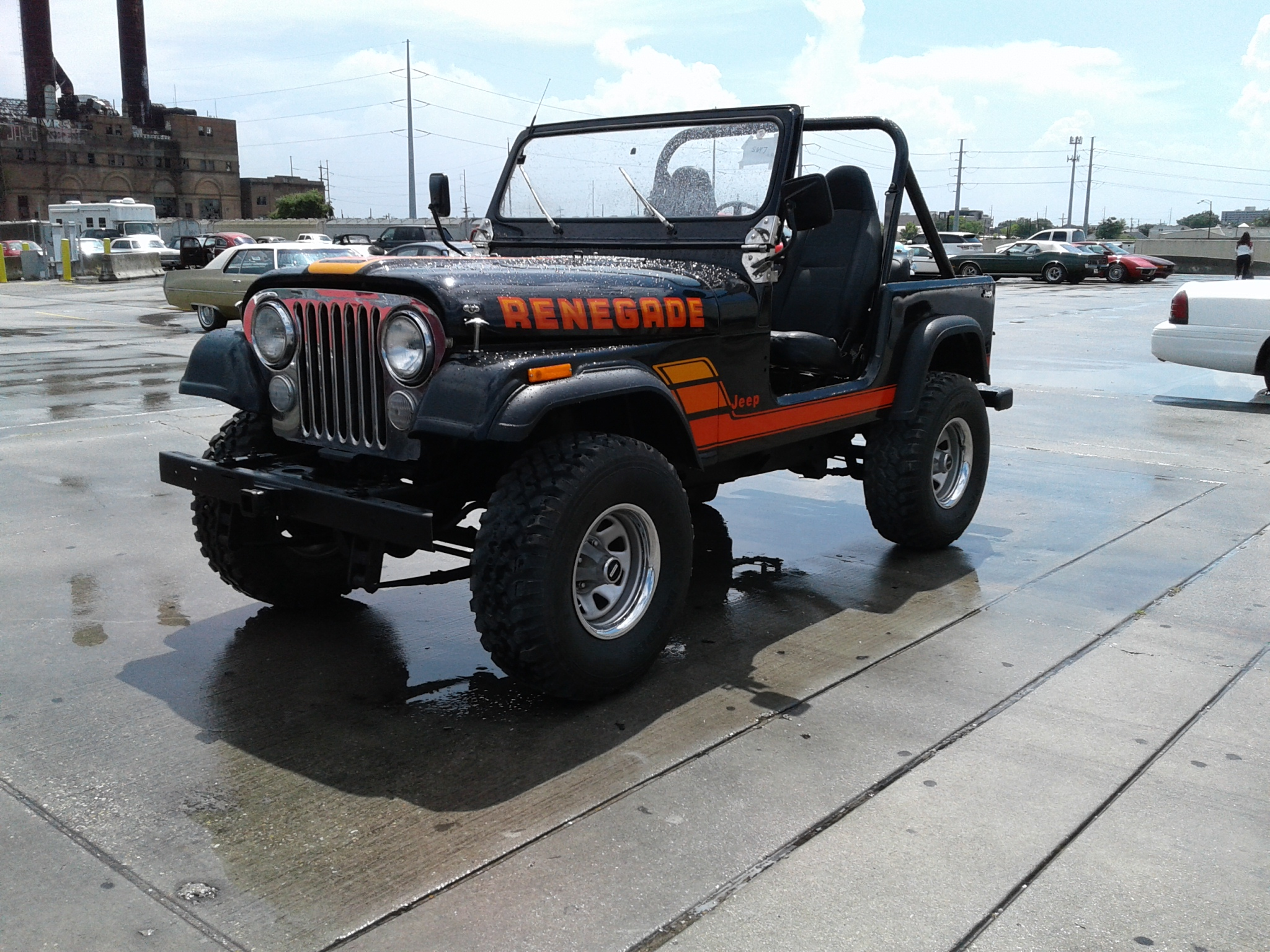 1984 jeep renegade cj7 for sale at vicari auctions new. Black Bedroom Furniture Sets. Home Design Ideas