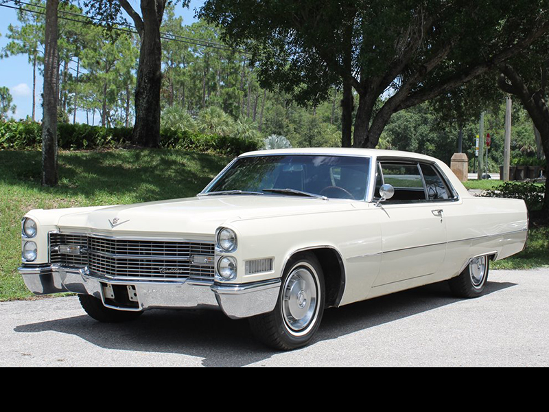1966 CADILLAC COUPE DEVILLE For Sale at Vicari Auctions ...