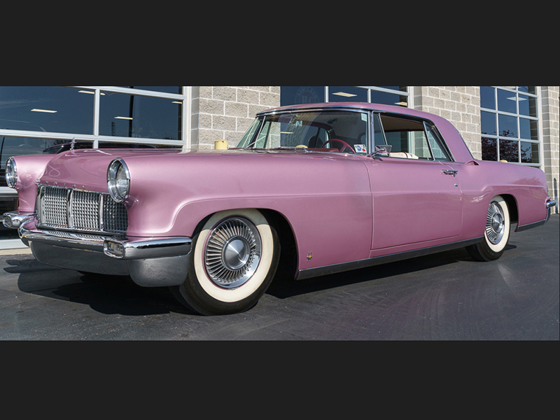 3rd Image of a 1956 LINCOLN CONTINENTAL MARK II
