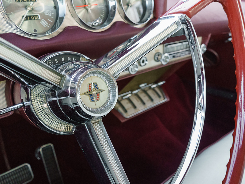 21st Image of a 1956 LINCOLN CONTINENTAL MARK II