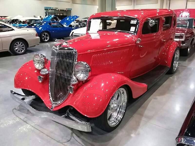 1934 ford 4 door sedan for sale at vicari auctions biloxi for 1934 ford 4 door sedan