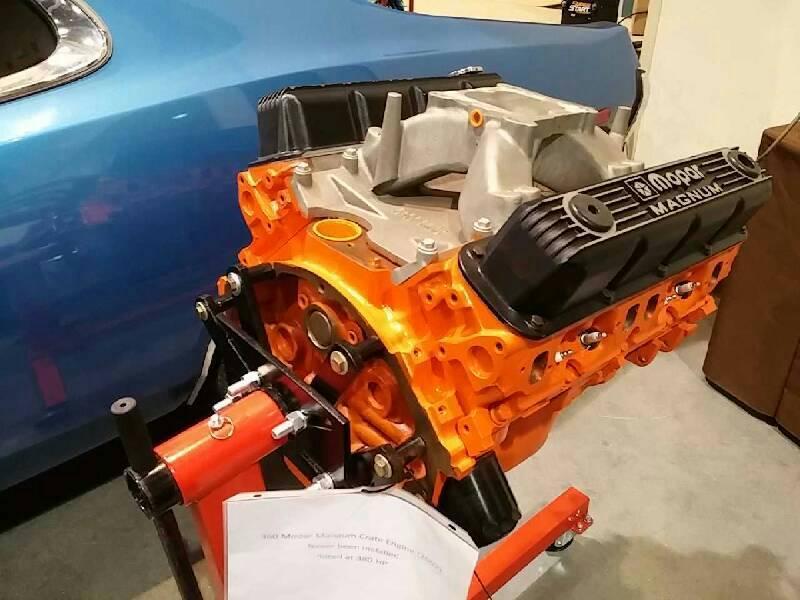0 360 MOPAR CRATE ENGINE 2002 For Sale at Vicari Auctions
