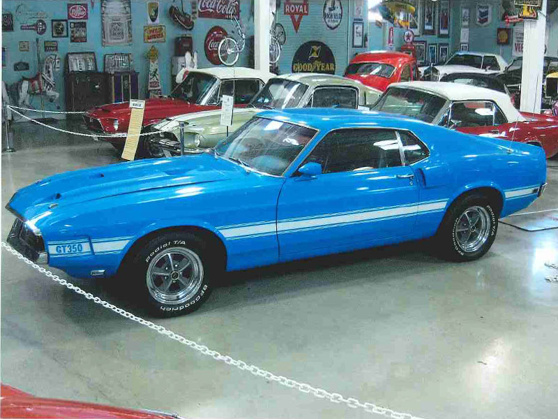 4th Image of a 1969 FORD SHELBY HERTZ FASTBACK