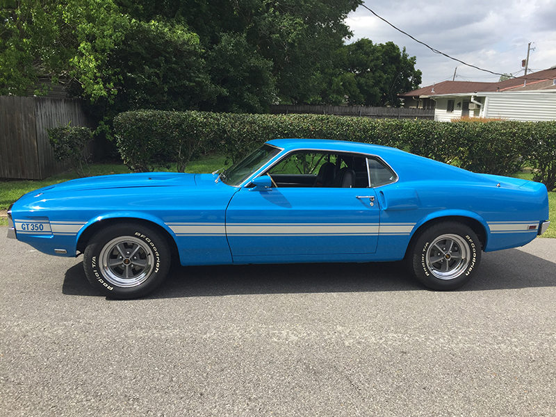 7th Image of a 1969 FORD SHELBY HERTZ FASTBACK