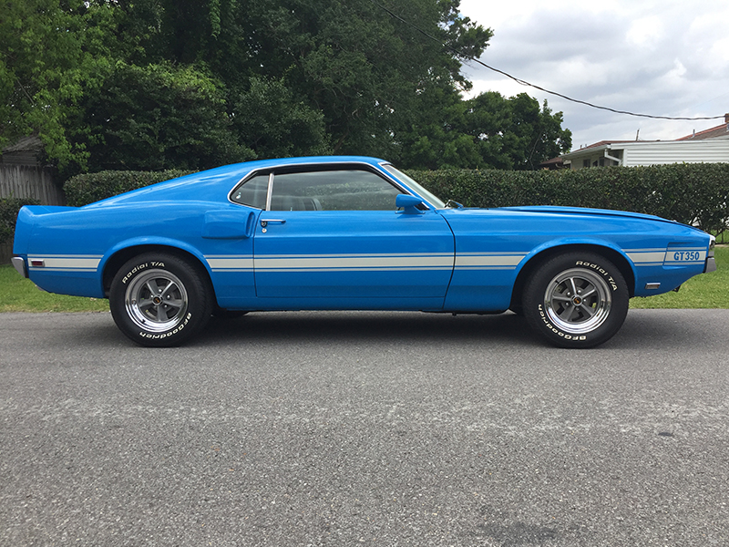 8th Image of a 1969 FORD SHELBY HERTZ FASTBACK