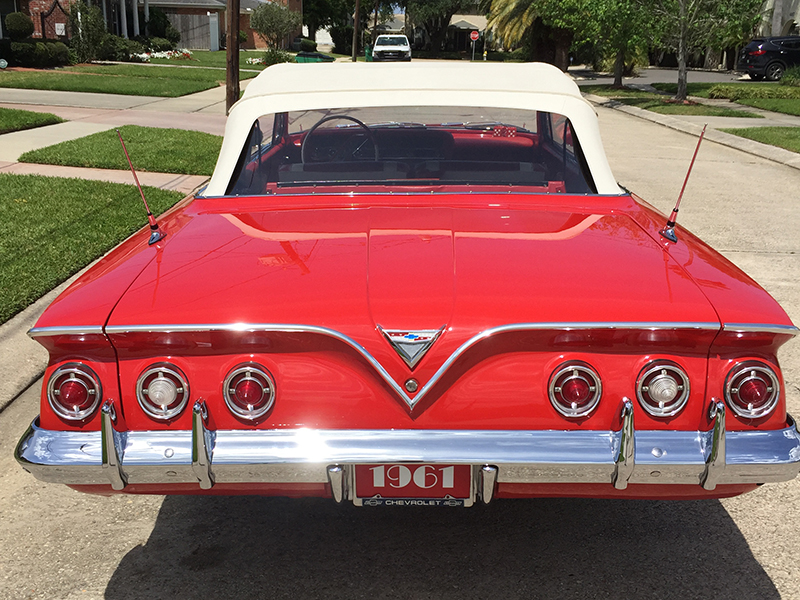 7th Image of a 1961 CHEVROLET IMPALA