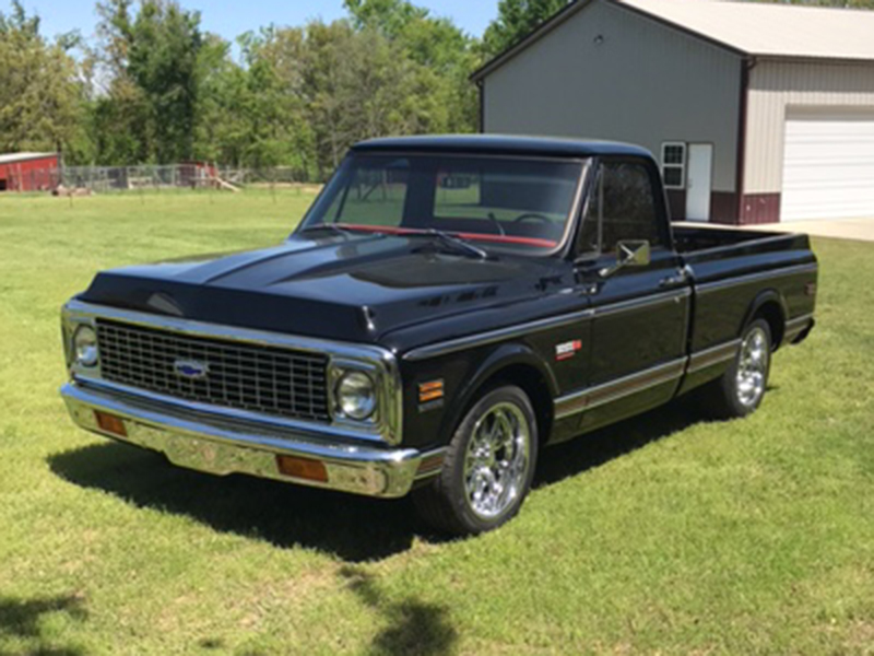 1972 Chevrolet Cheyenne Supra For Sale At Vicari Auctions