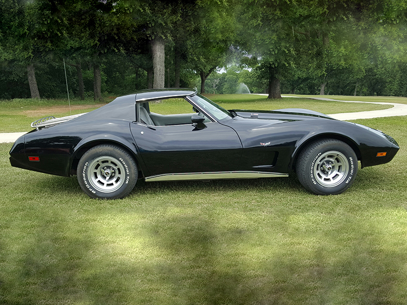 2nd Image of a 1977 CHEVROLET CORVETTE