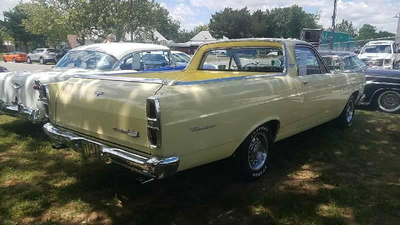 3rd Image of a 1967 FORD RANCHERO