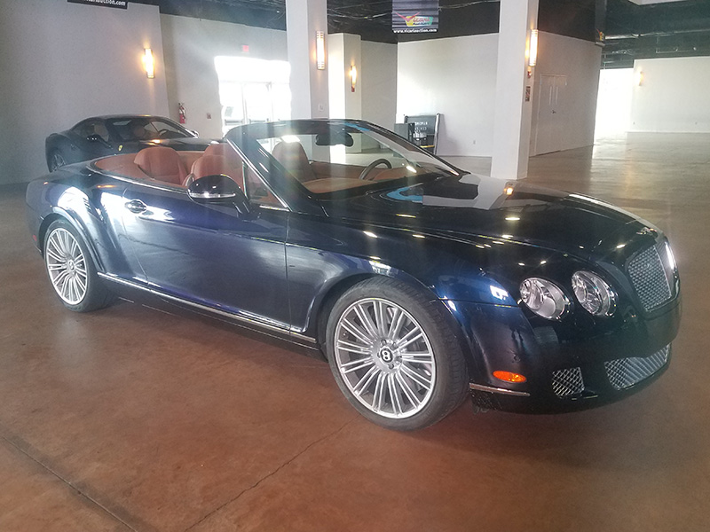1st Image of a 2010 BENTLEY CONTINENTAL GTC SPEED