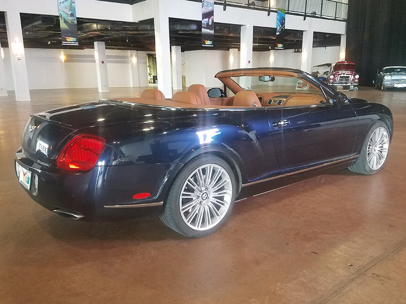 3rd Image of a 2010 BENTLEY CONTINENTAL GTC SPEED