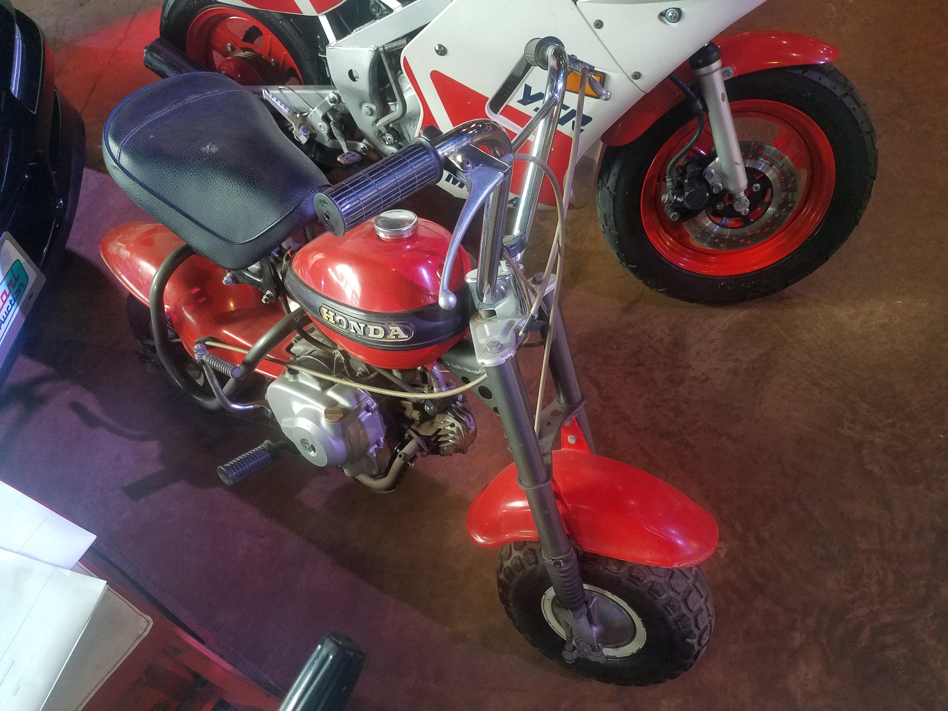 85 1970 Mini Trail Honda Z50 Motorcycle Ct 70 Bike 1st Image Of A 50