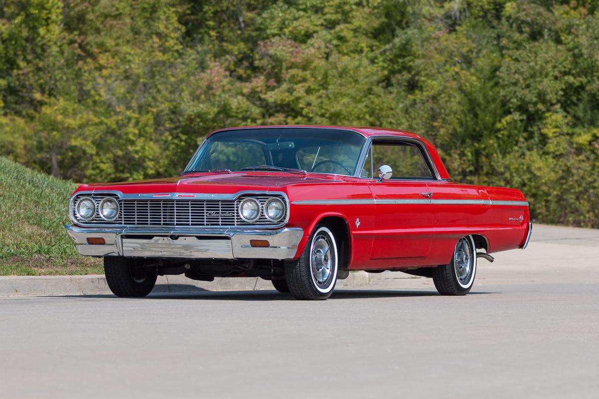 1964 chevrolet impala ss for sale at vicari auctions biloxi 2017. Black Bedroom Furniture Sets. Home Design Ideas