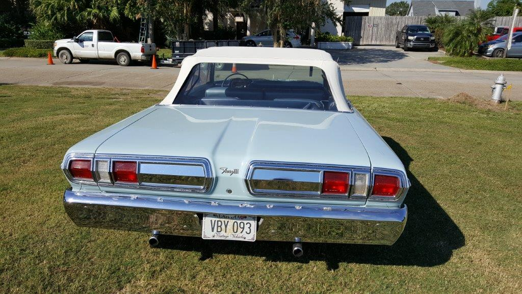 3rd Image Of A 1966 PLYMOUTH FURY III