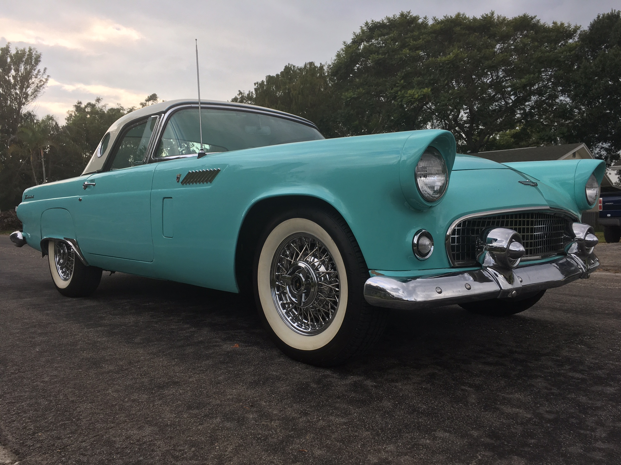 7th Image of a 1956 FORD THUNDERBIRD