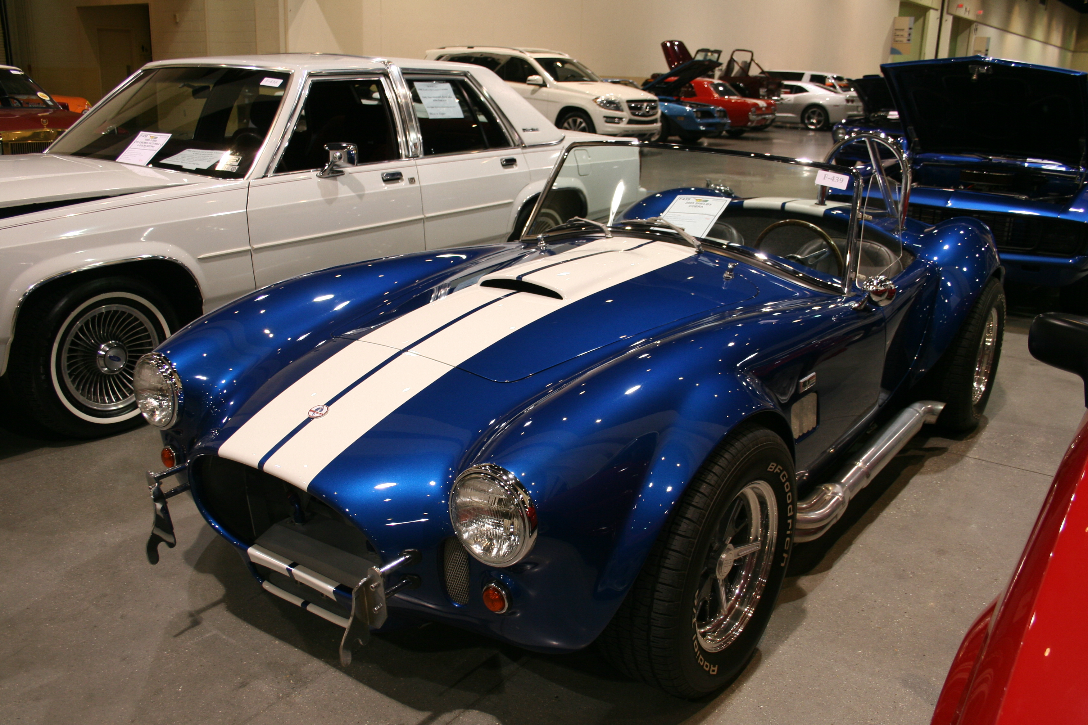 2005 SHELBY COBRA For Sale at Vicari Auctions Biloxi, 2017