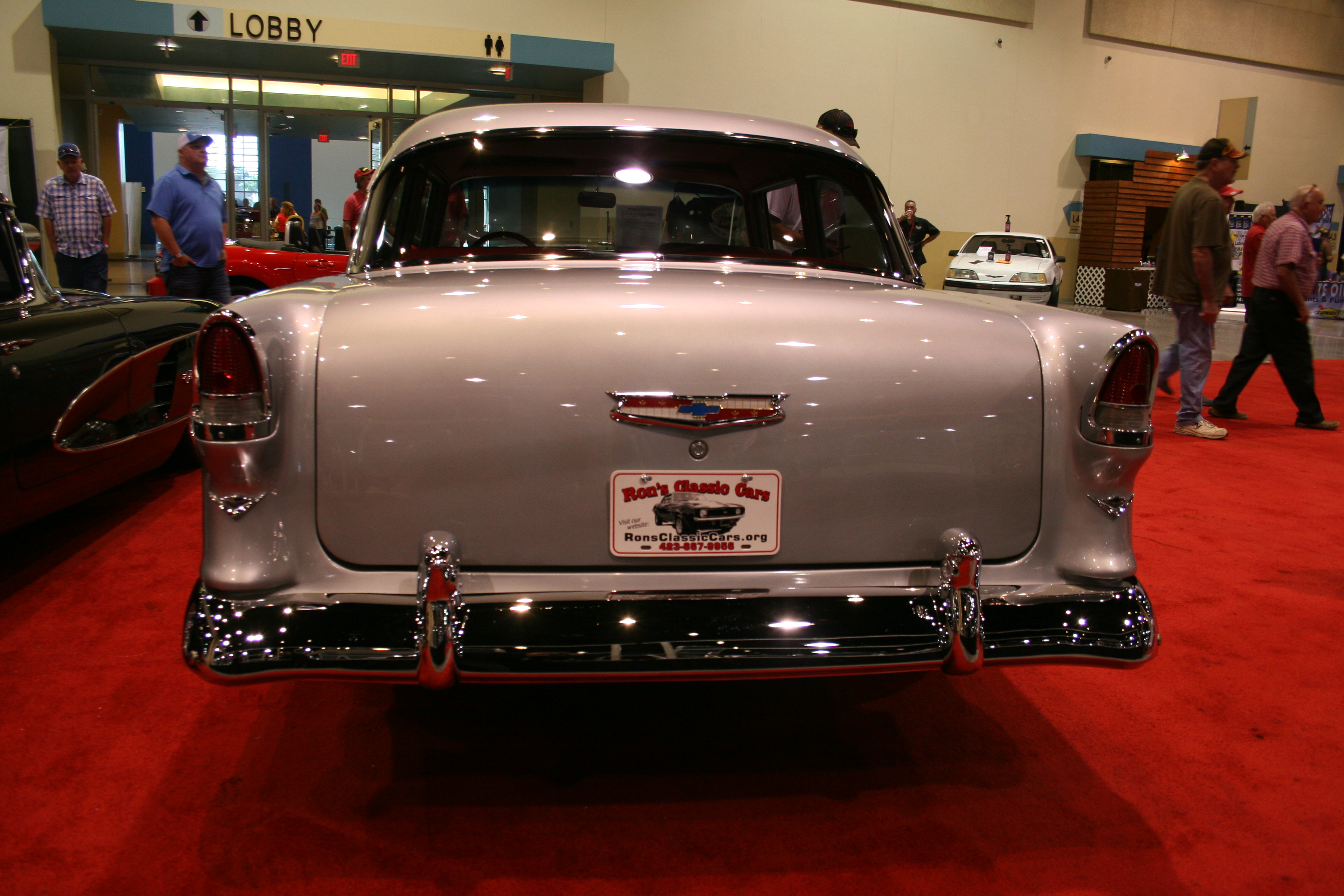 8th Image of a 1955 CHEVROLET BEL AIR