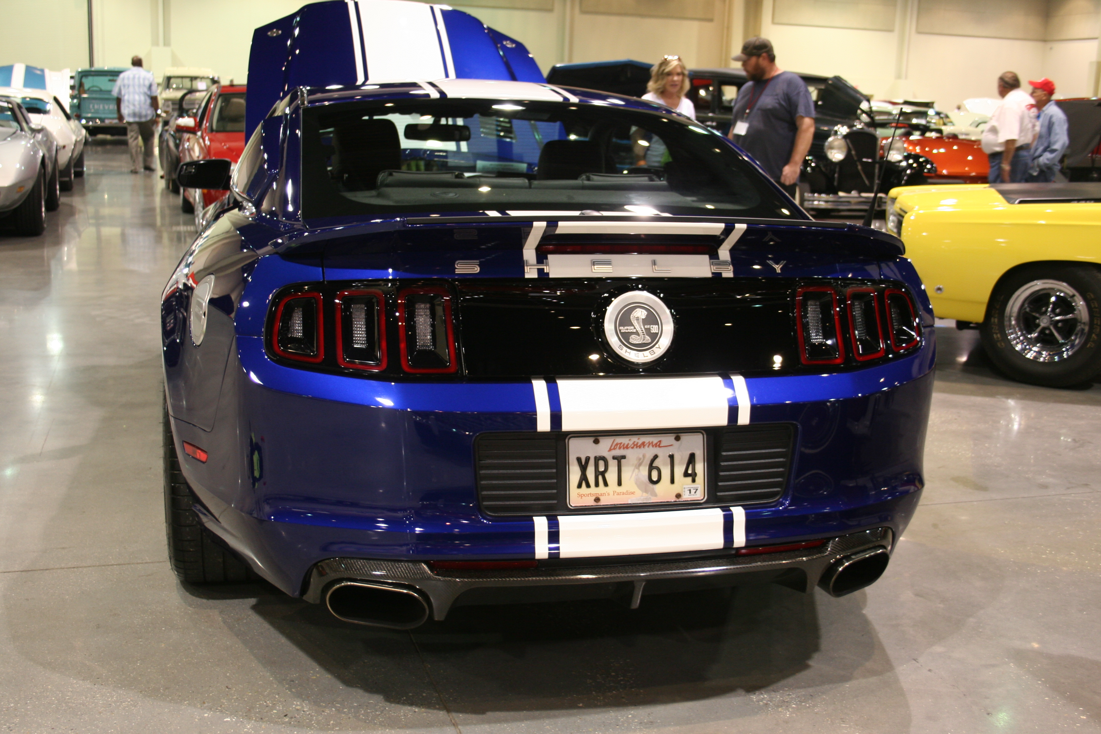7th image of a 2014 ford mustang shelby gt500
