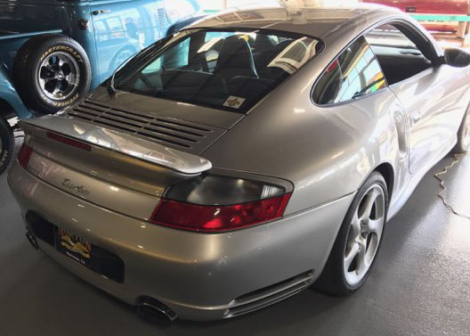2nd Image of a 2002 PORSCHE 911 TURBO