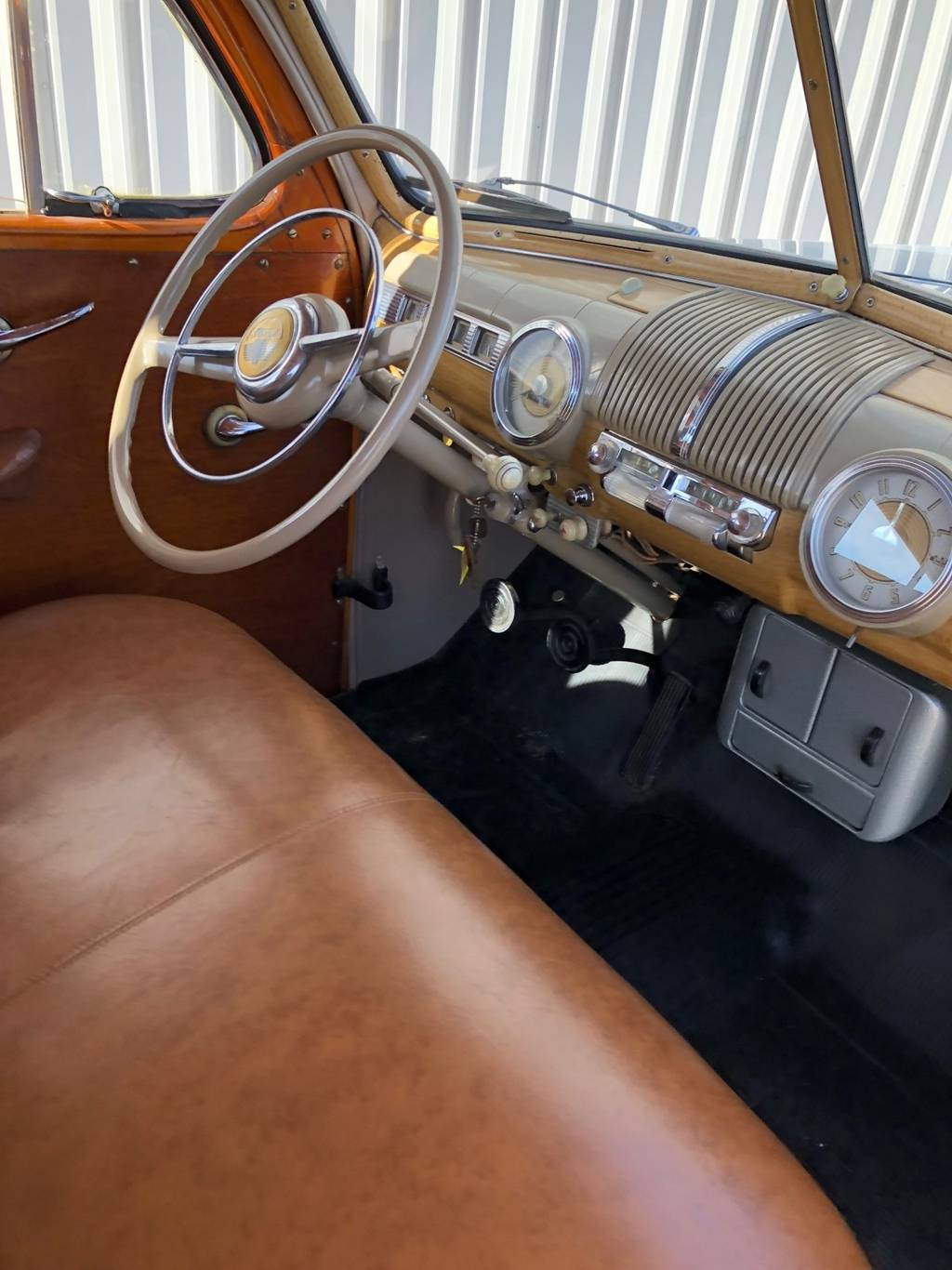 7th Image of a 1947 FORD SUPER DELUXE WOODY