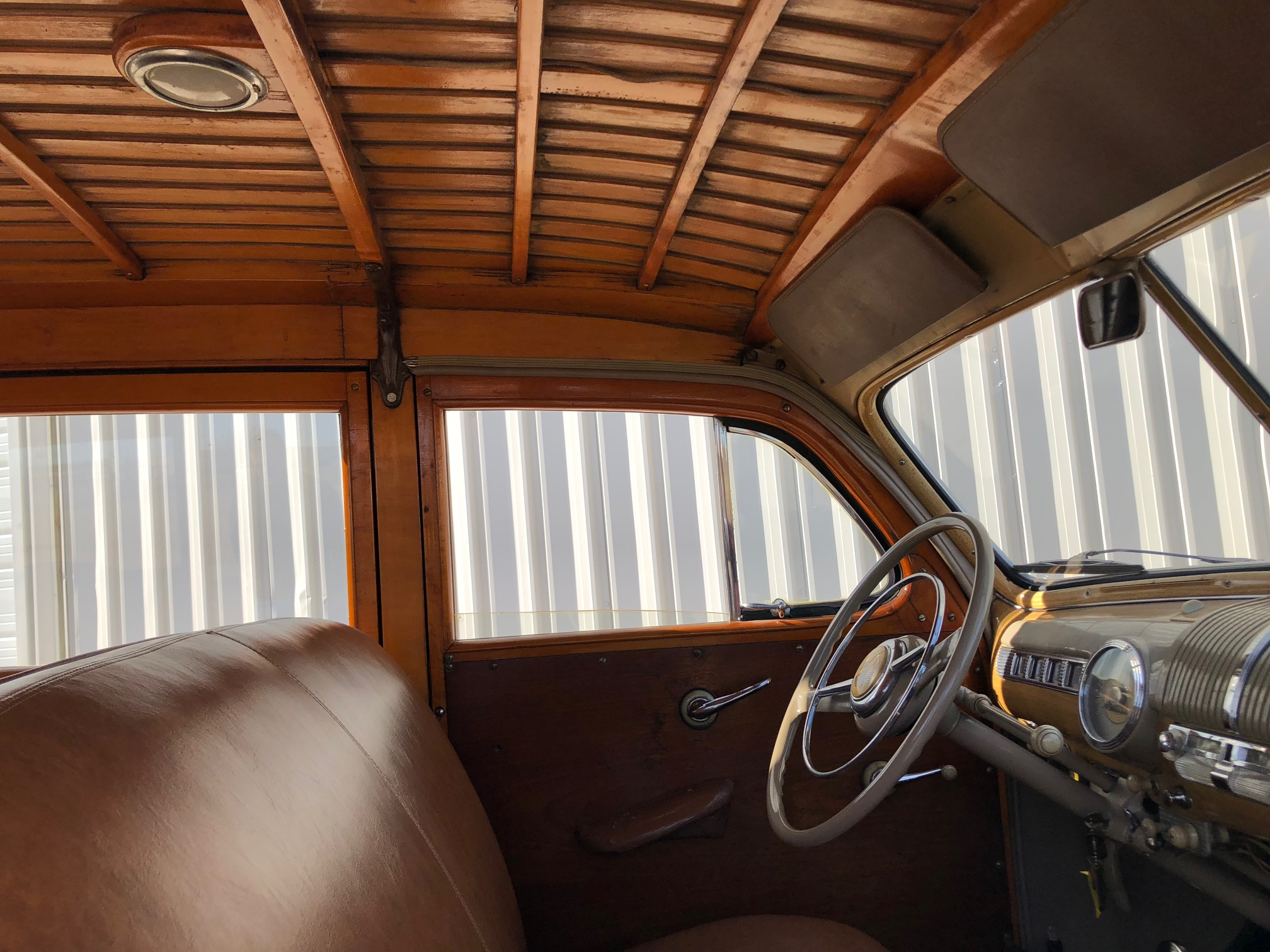 8th Image of a 1947 FORD SUPER DELUXE WOODY