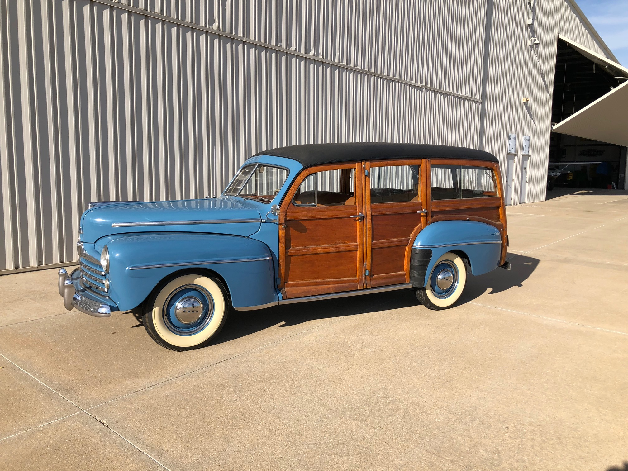 16th Image of a 1947 FORD SUPER DELUXE WOODY