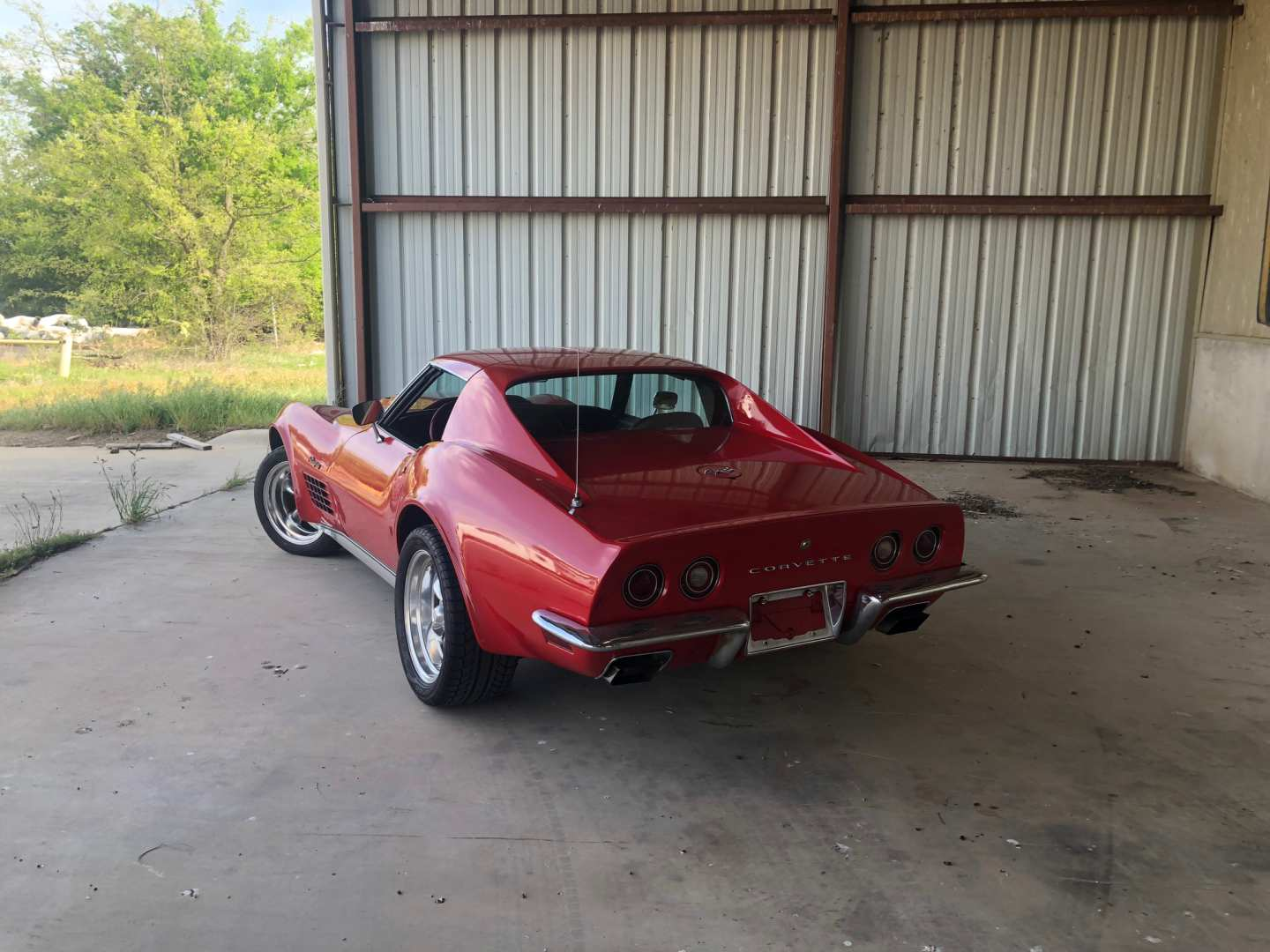4th Image of a 1972 CHEVROLET CORVETTE