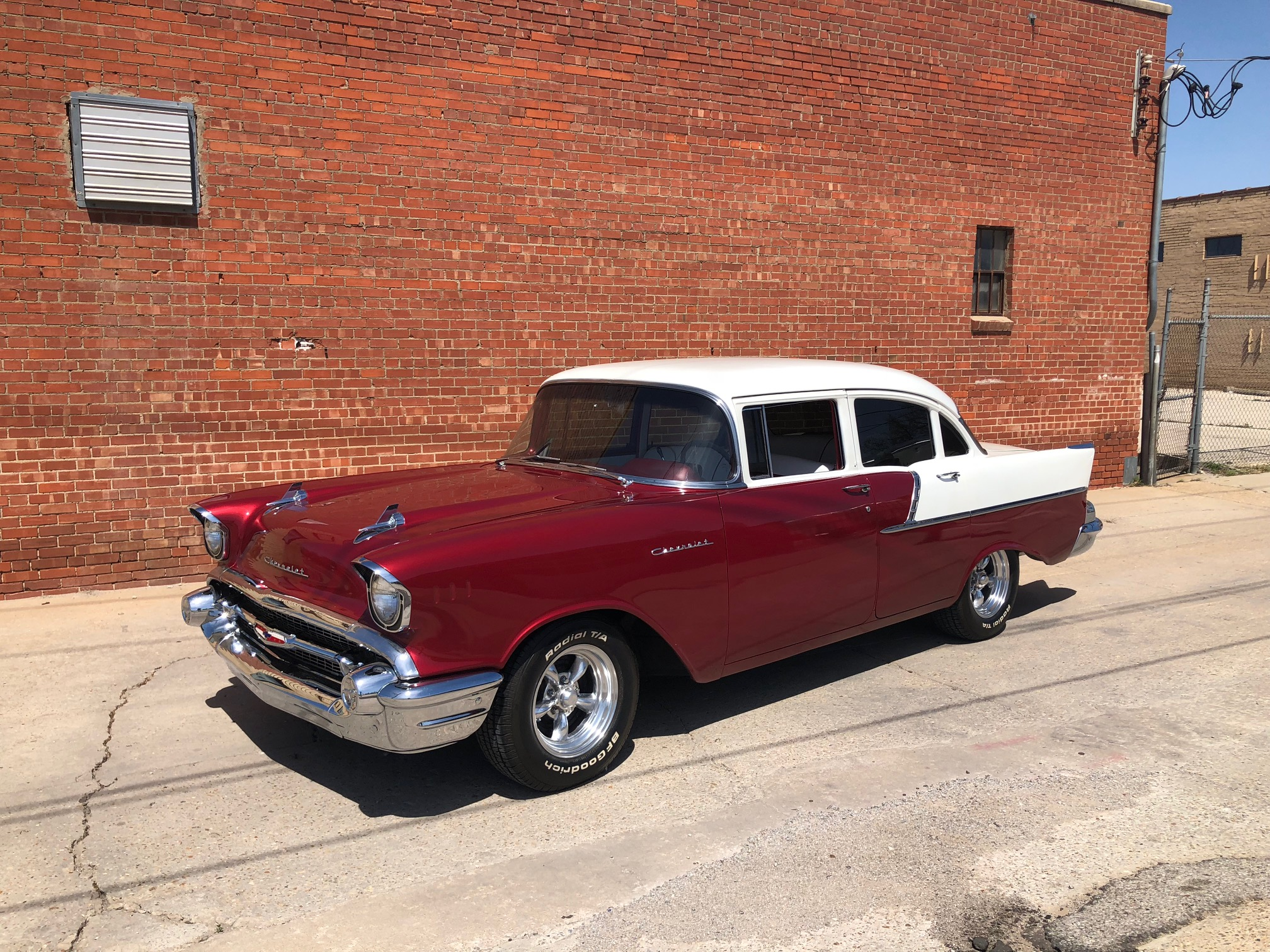 2nd Image of a 1957 CHEVROLET BELAIR