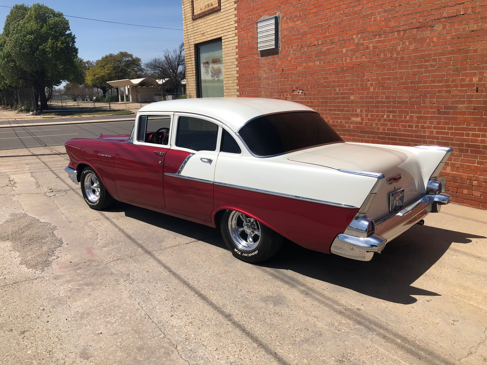 3rd Image of a 1957 CHEVROLET BELAIR