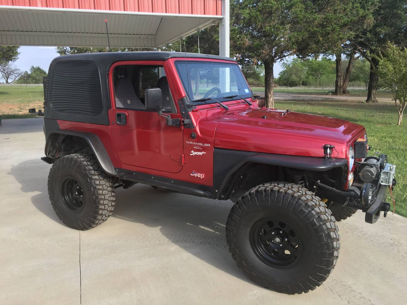 9th Image of a 1998 JEEP WRANGLER SPORT