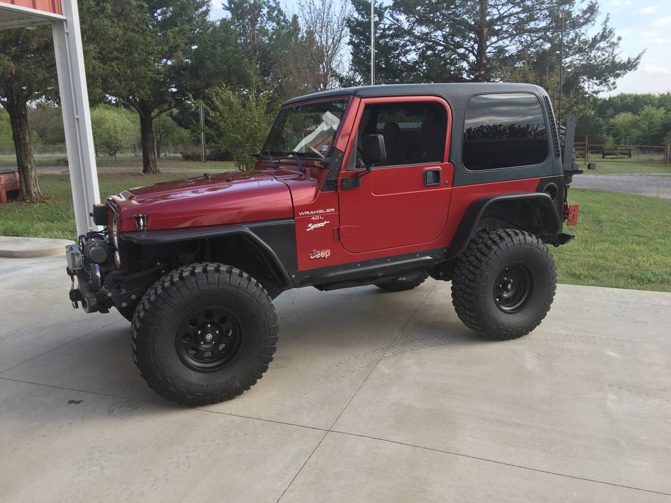 11th Image of a 1998 JEEP WRANGLER SPORT