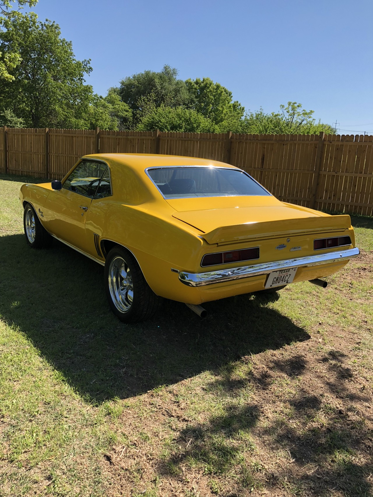 3rd Image of a 1969 CHEVROLET CAMARO YENKO TRIBUTE