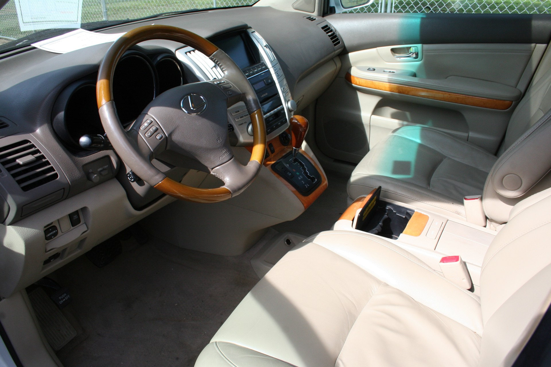 4th Image of a 2007 LEXUS RX 350