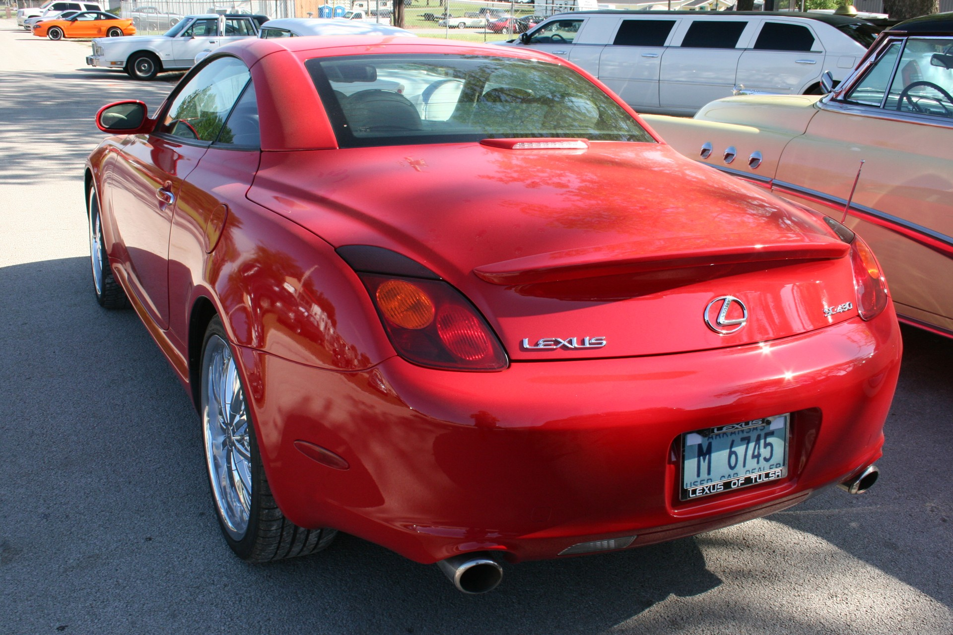 4th Image of a 2002 LEXUS SC 430