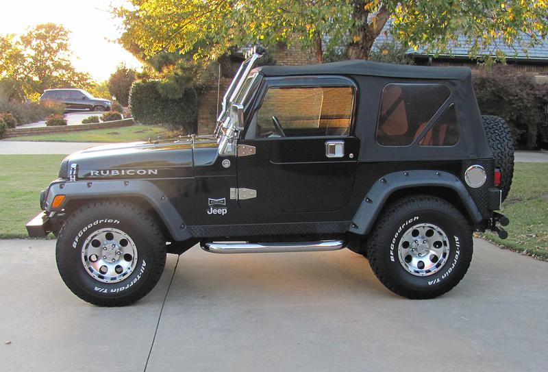 3rd Image of a 2005 JEEP WRANGLER RUBICON
