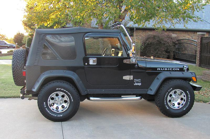 5th Image of a 2005 JEEP WRANGLER RUBICON