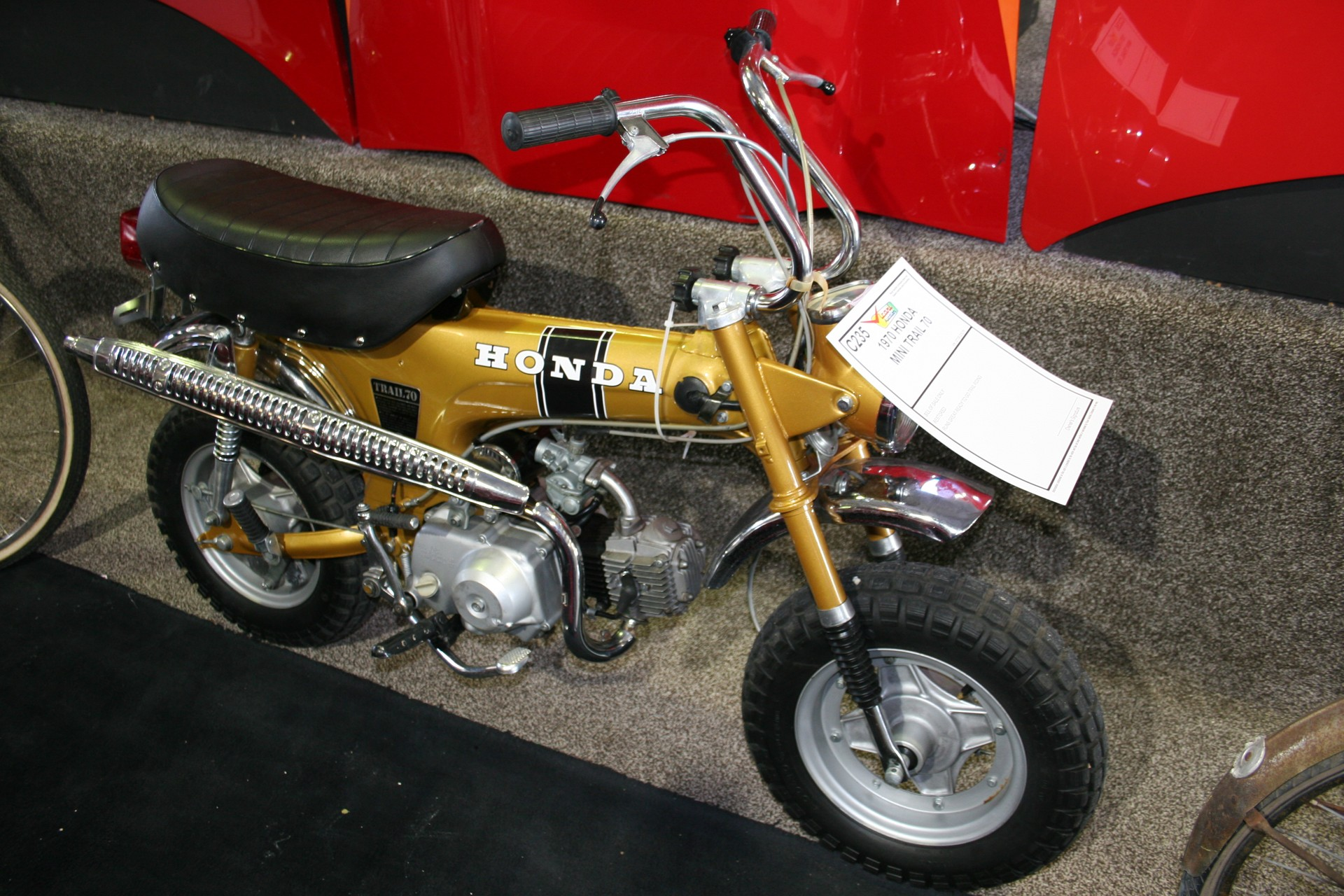 1970 Honda Mini Trail 70 For Sale At Vicari Auctions Nocona Tx 2018 Bike 1st Image Of A