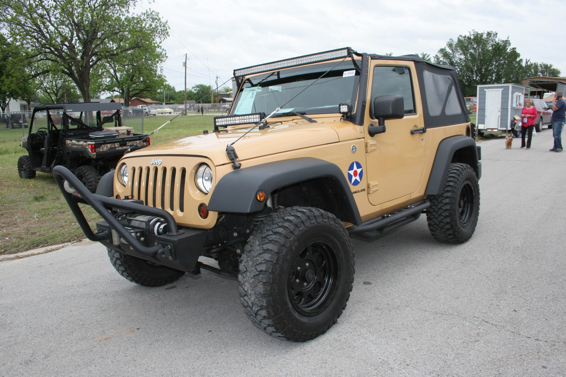 2nd Image of a 2013 JEEP WRANGLER SPORT