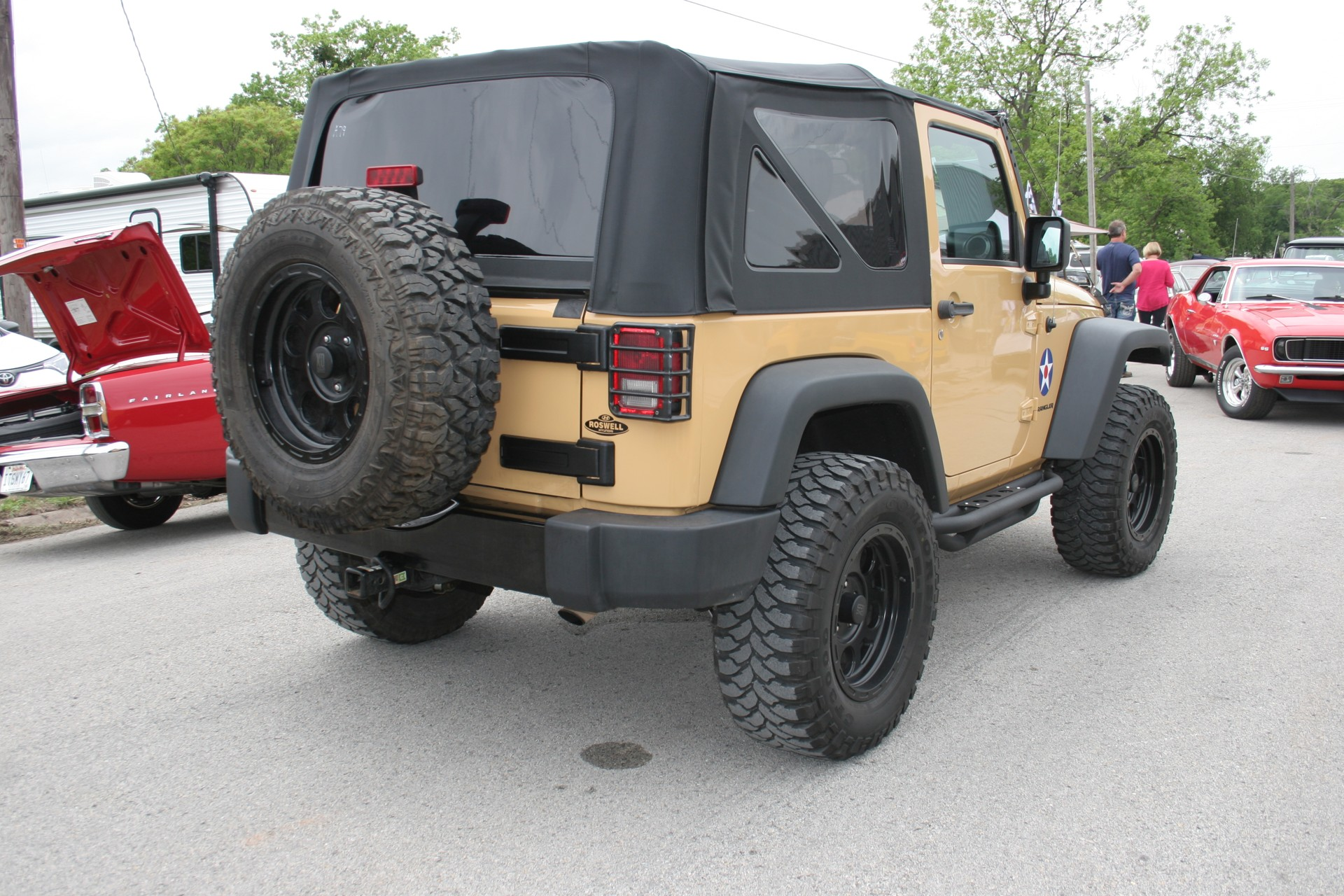 4th Image of a 2013 JEEP WRANGLER SPORT