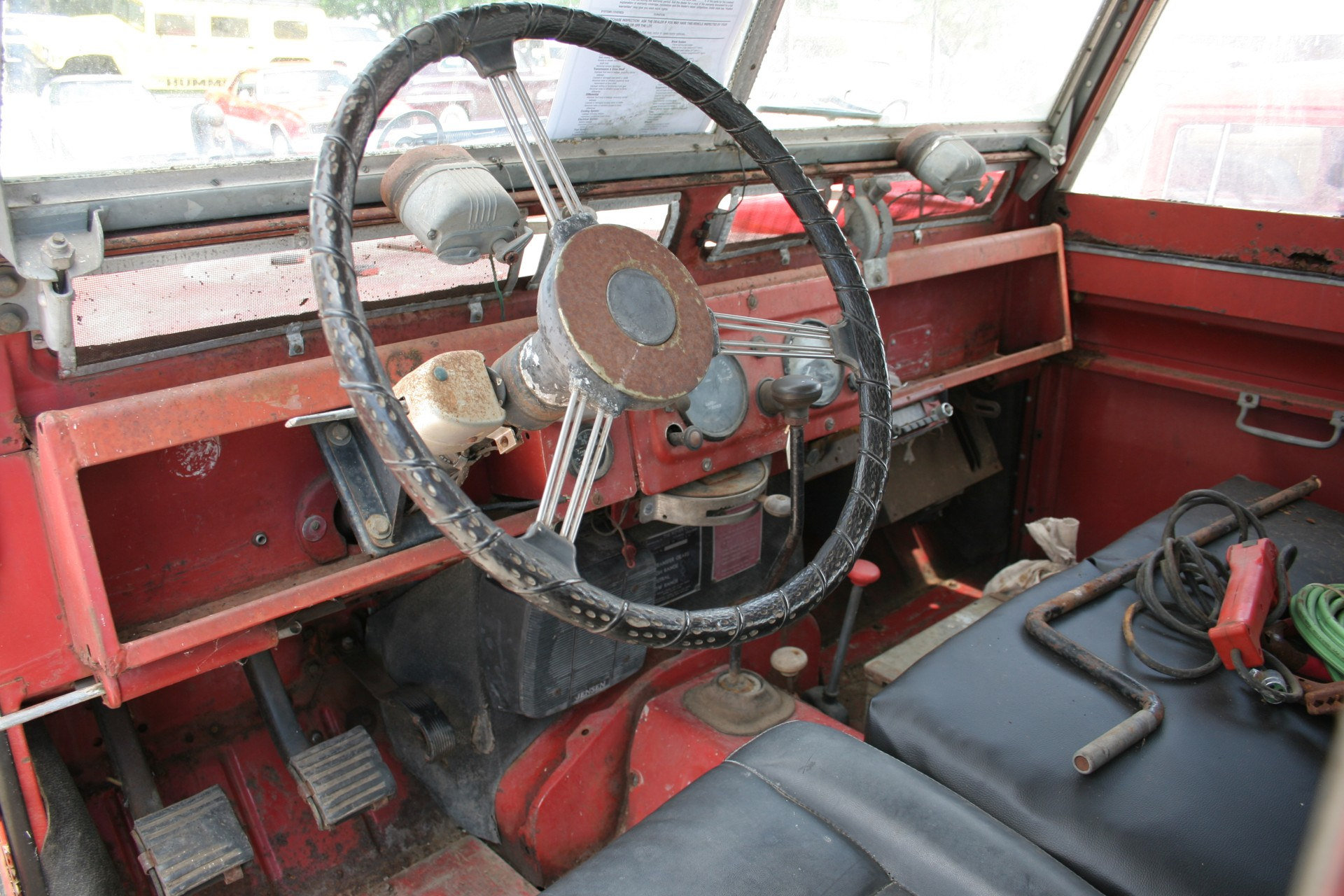 5th Image of a 1966 LANDROVER SERIES2