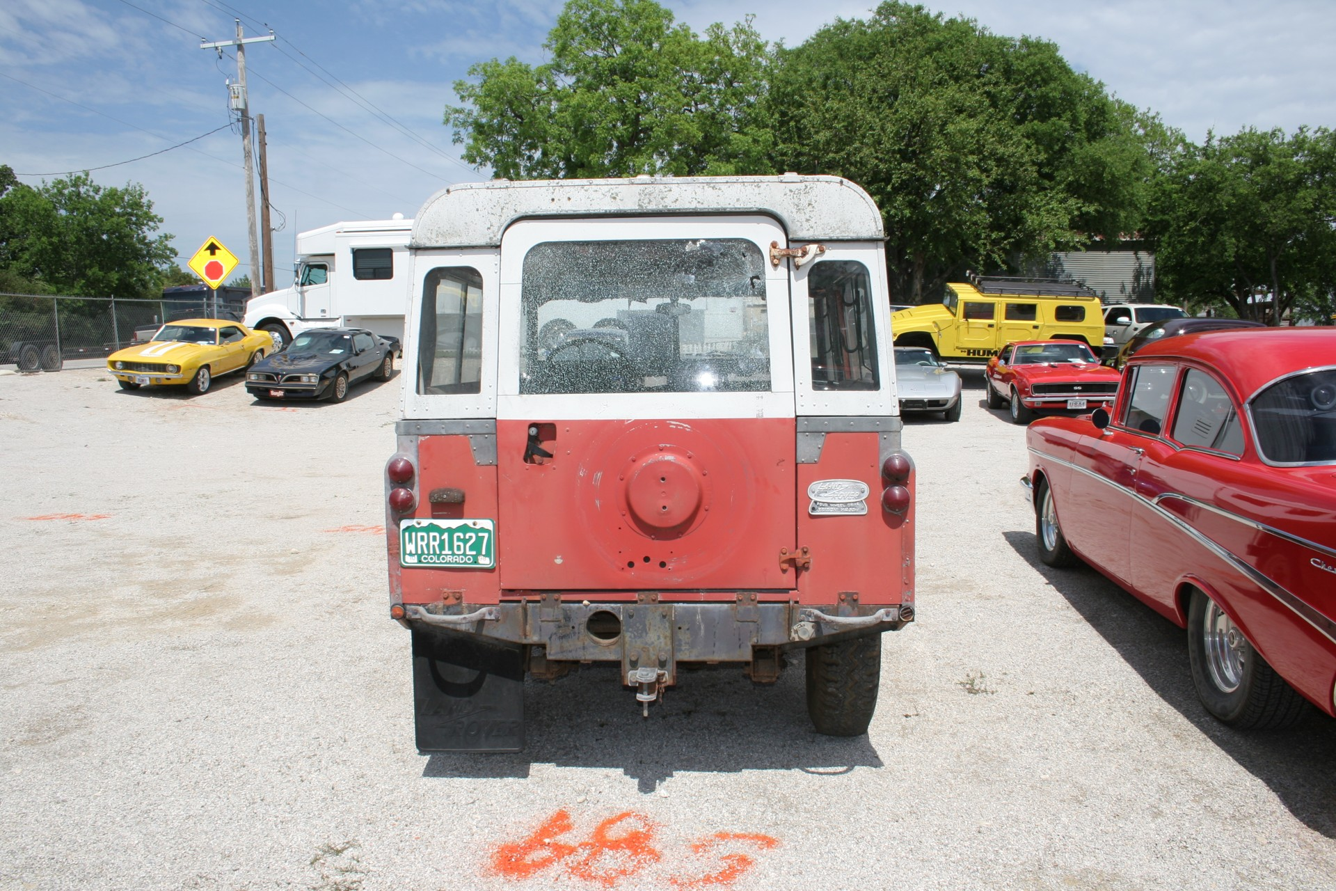 10th Image of a 1966 LANDROVER SERIES2
