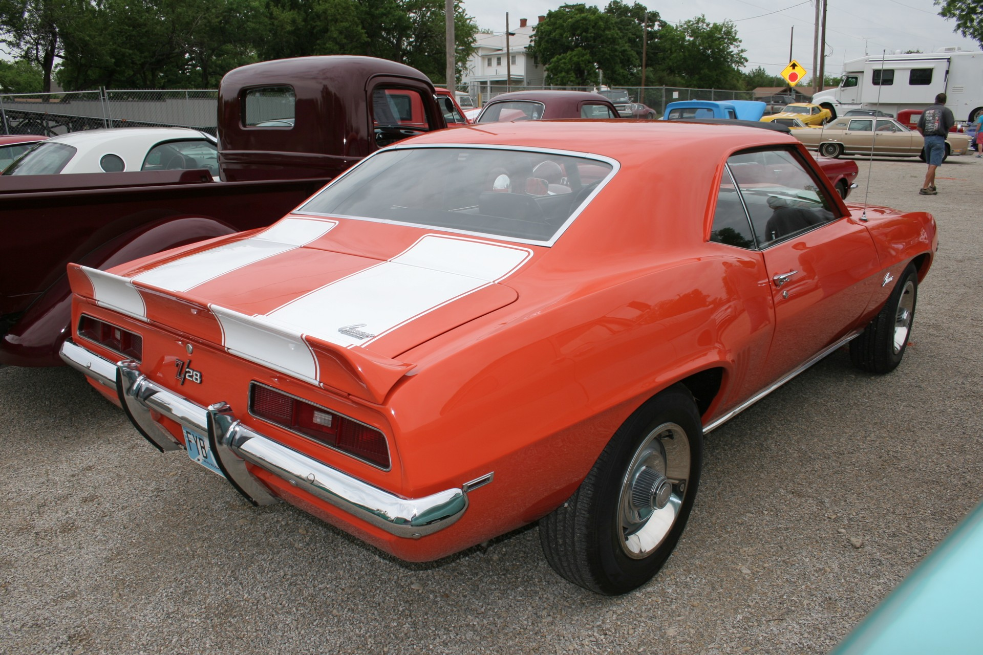 5th Image of a 1969 CHEVROLET X77 Z28