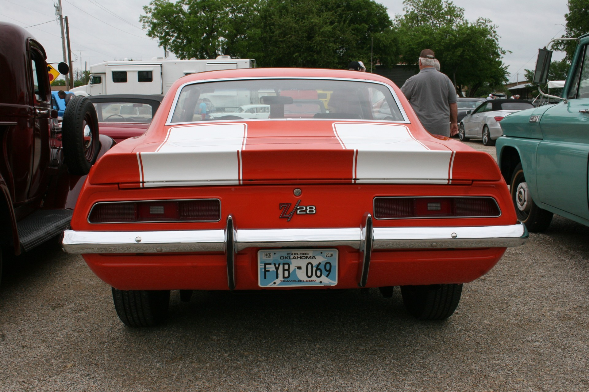 6th Image of a 1969 CHEVROLET X77 Z28