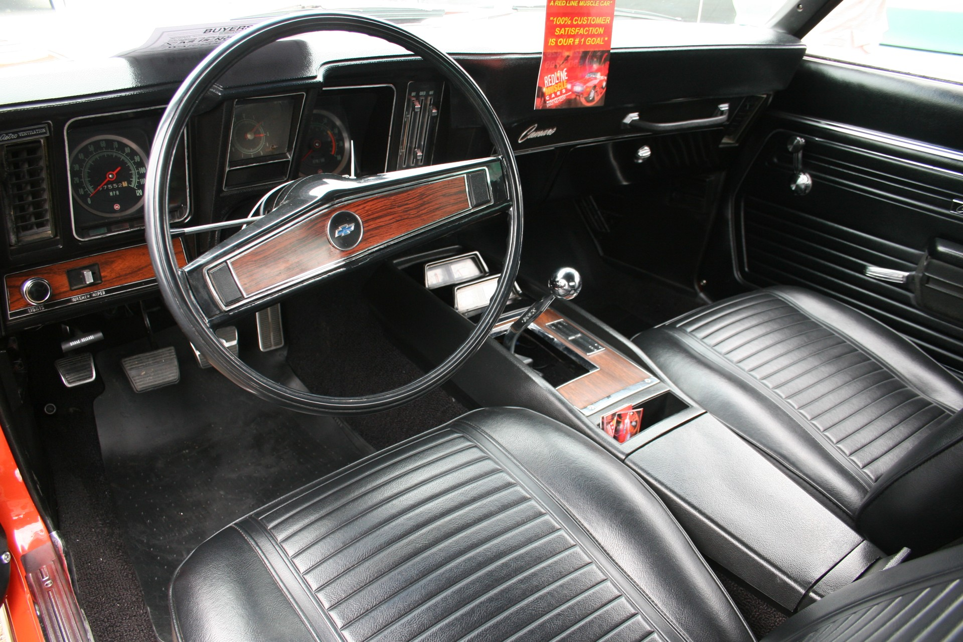 7th Image of a 1969 CHEVROLET X77 Z28