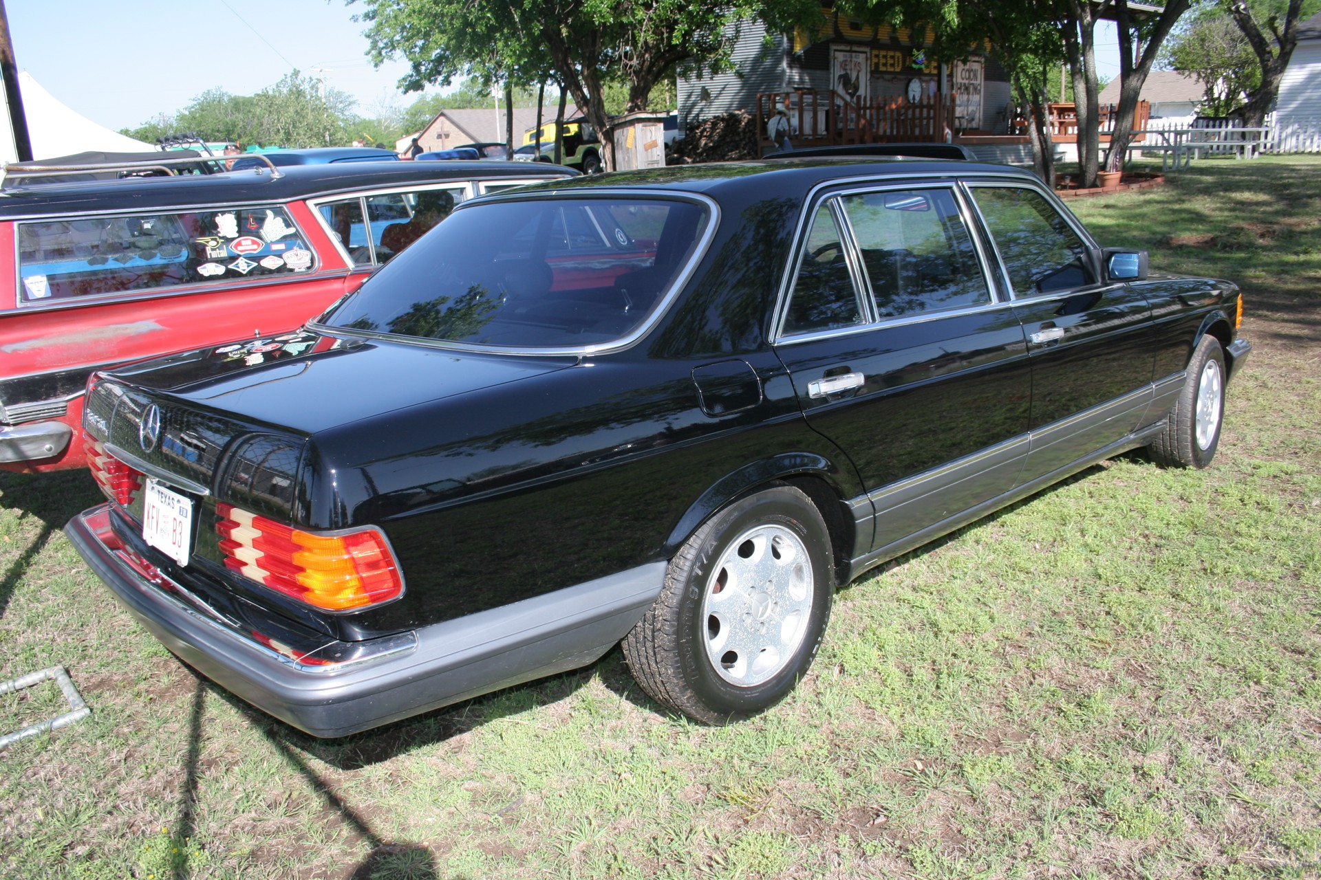 4th Image of a 1990 MERCEDES-BENZ 560 560SEL