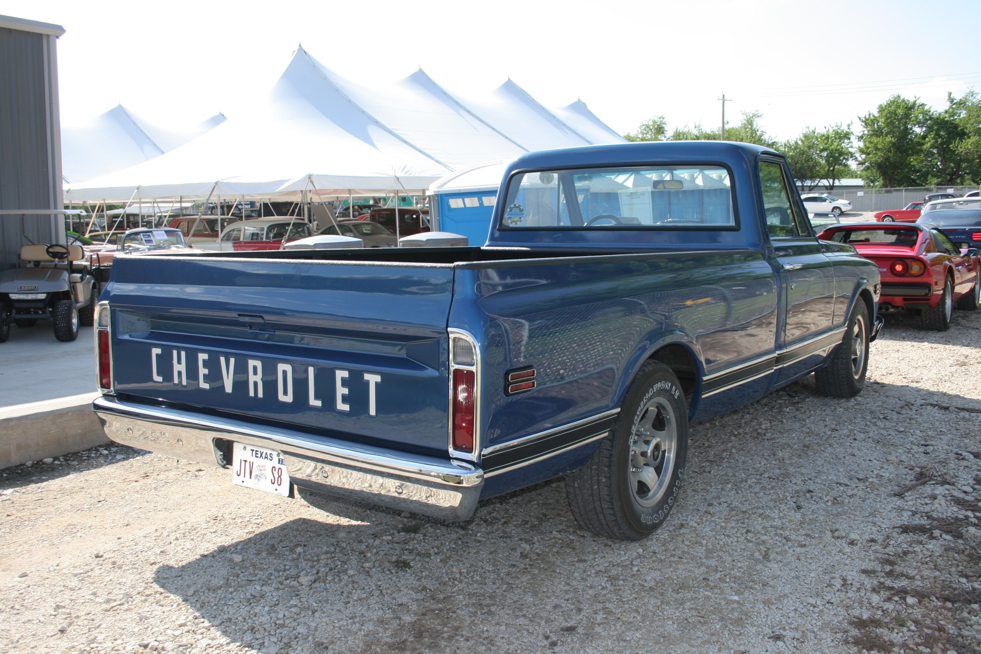 4th Image of a 1971 CHEVROLET PICKUP
